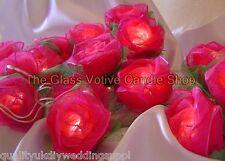 STOCK RU Rose LED PILE Fleur Roses Lumière Féerique Fil Cadeau 3.4 Mètres