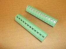 1 X (1 pieces) 12 Way Terminal Block PCB mount 250V 5mm Pitch  (L3061)