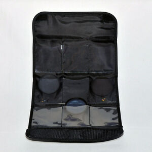 KOOD FILTER WALLET POUCH FOR 9X 62MM SCREW-IN OR COKIN A SERIES FILTERS