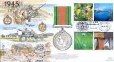 Jsmil 18 2000 1945 DIFESA MEDAGLIA Millennio Jscc UFFICIALE FDC