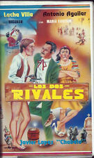 Los Dos Rivales (VHS) Mexi-Cinema Classic! Rare Clamshell! Spanish Only