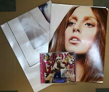 LADY GAGA ARTPOP [PA] CD + 2 RARE DOUBLE SIDED POSTER 2013
