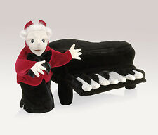 Mozart Hand Puppet in a Removable Piano, Folkmanis MPN 2860, 3 & Up
