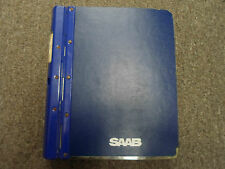 1986 1988 Saab 9000 Electrical System Instrument Wiring Diagram Service Manual