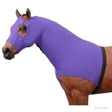 Horse Slinky Mane Stay Hood - 100% Spandex - Purple - Size Medium