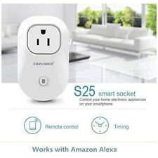 Orvibo Wi-Fi Smart Socket Outlet US Plug Turn ON/OFF Electronics from Anywher...