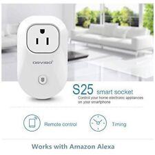 2 Pack Orvibo Wi-Fi Smart Socket Outlet US Plug Turn ON/OFF Electronics