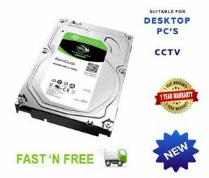 HARD DRIVE 3'5  2TB 3TB 4TB 5TB 6TB SATA HDD CCTV DESKTOP PC IMAC