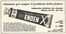 W1917 Antiforfora ENDEN - Helene Curtis - Pubblicità del 1958 - Vintage advert