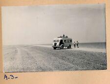 Piste ALGER - LE CAP 1950 - 4 Photos Autobus Ligne Hoggar - PL 1033