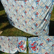 Marvel Comics: Spider-Man Webs Twin Sheet Set: Fitted, Flat, & 2 Pillowcases