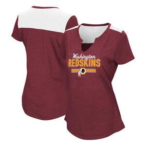 NFL Washington Redskins Women's Printed Short-Sleeve Top, Size Medium -NWT