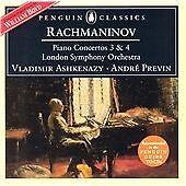 Rachmaninov/Piano Concertos Nos.3 & 4, Lso/Ashkenazy/Previn, Very Good