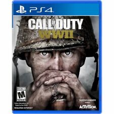 PS4 Call of Duty WWII WW2 NEW Sealed REGION FREE Plays on all! World War two 2
