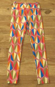 LuLaRoe Womens O/S Leggings Circle Dots Multicolor Stretch NEW