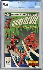Daredevil  #174   CGC   9.6   NM+   White pages
