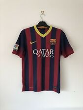 Barcelona Home Football Shirt 2013/14 13 14 Small S