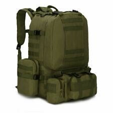 60L Outdoor Military Tactical Backpack Rucksack Camping Bag Travel Hiking