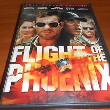 Flight of the Phoenix (DVD, 2005, Full Screen) Dennis Quaid Used