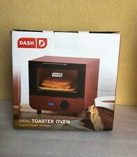 Dash Mini Toaster Oven Cooker for Bread, Bagels, Cookies, Pizza, Paninis & More