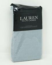 Lauren Ralph Lauren Devon Rustic 100% Linen Pillow Sham - EURO - Blue