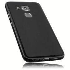 mumbi Hülle f. Huawei Nova Plus Schutzhülle Case Tasche Cover Schutz Schwarz