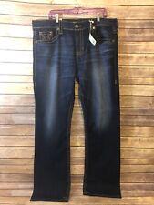 Buckle Big Star Pioneer Jeans Size 40 Long Mens Dark Wash Regular Boot New NWT