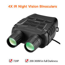 """2.3"""" 720P IR Night Vision Binoculars Photos Videos Camera Hunting Wildlife Cam"""