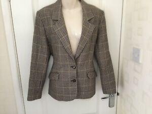 Women's tweed check smart jacket size 14. Edinburgh