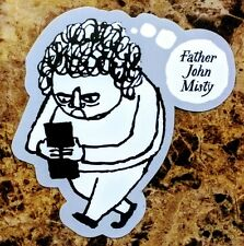 FATHER JOHN MISTY Pure Comedy 2017 Ltd Ed RARE Sticker +FREE Indie Rock Stickers