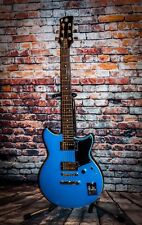 Yamaha Revstar in factory blue.