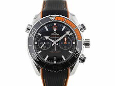 Omega Seamaster Planet Ocean Co-Axial Master Chronometer 46mm Chronograph Her...