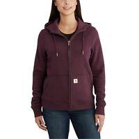 CARHARTT Women's Full-Zip 'Clarksburg' Hoodie (XL, 102788) Coat Jacket $69