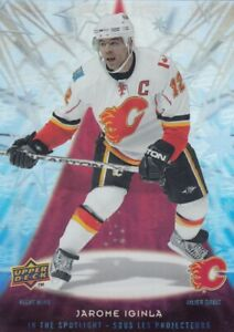 2009-10 UD McDONALD IN THE SPOTLIGHT JAROME IGINLA NO:IS4