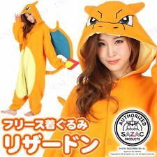 SAZAC Pokemon Charizard Fleece Costume Adult Unisex tmy036 F/S from japan NEW