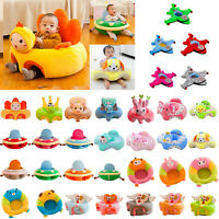Baby Sofa Support Seat Cover Soft Plush Chair Learn To Sit Up Cushion Portable
