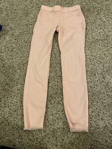 Justice Size 10 Pink Jeggings