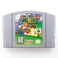 Super Mario 64 (Nintendo 64, 1996) Authentic Cartridge Only Tested & Works