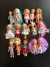 "Lot of 4"" Barbie Dolls Clothes Mattel & Others"