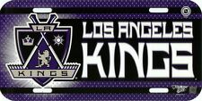 NHL Hockey Los Angeles KINGS Plastic License Plate by wincraft