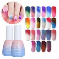 10ml Thermal Farbwechsel Schimmern Soak Off UV Gel Nagellack Tipps Born Pretty
