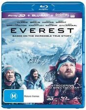 Everest (Blu-ray, 2016, 2-Disc Set)