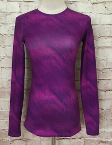 Champion C9 Power Core Magenta Purple Long Sleeve Fitted Compression Shirt Small