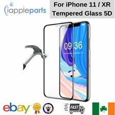 For Apple iPhone 11 / XR  5D Tempered Glass Screen Protector Edge to Edge