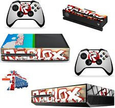 ROBLOX xbox one skins decals stickers + kinect + 2 controllers game