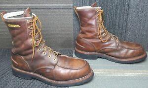 """Mens Thorogood 1957 Series 8"""" Waterproof Safety Toe Boot sz 13 EE"""