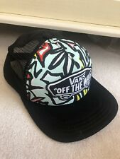 "Vans ""Off the Wall"" Teal & Mesh Snapback Trucker Hat [BRAND NEW]"