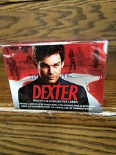 One 2015 Breygent Dexter Seasons 5 and 6 Factory SEALED Trading Card HOBBY Box
