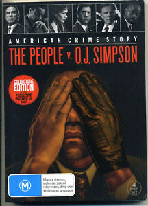 The People V. OJ Simpson - American Crime Story Collectors Edition DVD 4 disc r4