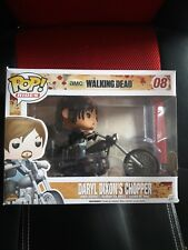 Funko Pop Rides The Walking Dead AMC Daryl Dixon's Chopper #08 Figurine En Vinyl